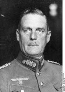 Foto af general Wihelm Keitel. Han har i dag informeret general Falkenhorst om, at Danmark skal benyttes som trædesten i operationen mod Norge. Hvordan og i hvilket omfang er endnu ikke bestemt. Fra Wikimedia Commons.