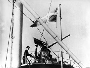 I kølvandet på Altmark-affærren i norsk farvand er den danske flådechef Hjalmar Rechnitzer kun blevet mere opmærksom på vigtigheden af at den dansk flåde kan hævde dansk suverænitet og neutralitet. Foto: Frihedsmuseets billedarkiv.