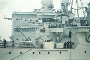 Den tyske marineattaché i Norge slår i dag alarm - 60 britiske skibe er set ud for Egernsund! Der er imidlertid tale om falsk alarm. Foto: Frihedsmussets billedarkiv.