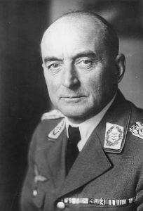 Generalløjtnant Leonard Kaupisch. Veteran fra 1. Verdenskrig og kommandant under Polensfelttoget. I dag er hans korps beordret tilbage til Tyskland. Den næste opgave bliver at besætte Danmark. Fra Wikimedia Commons.
